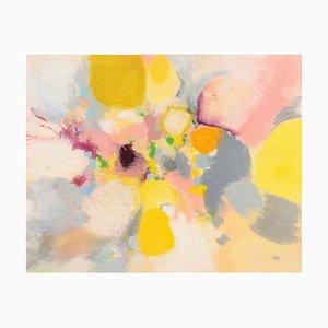Peinture Informel Tachismus Pastel par Rolf Hans, 1962