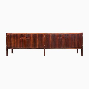 Long Rosewood Sideboard by Arne Hovmand-Olsen for Mogens Kold, 1960s