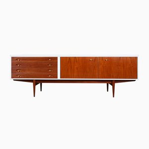 White and Teak Hamilton Sideboard by Robert Heritage for Archie Shine, 1950s