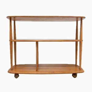 Mid-Century Bookcase Trolley by Ercol, 1960s