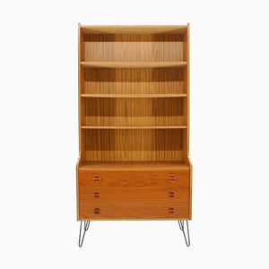 Upcycled Danish Teak Bookcase Chest of Drawers, 1960s
