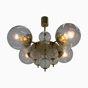Large Chandelier from Kamenicky Senov, 1970s