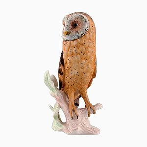 Goebel Porcelain Owl, West Germany, 1980s