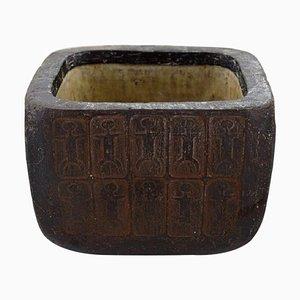 Danish Ceramic Bowl by Lizzie Schnakenburg Thyssen