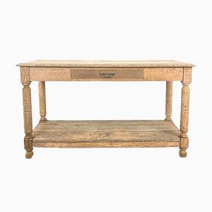 Antiker Draper Tisch aus Gebleichter Eiche