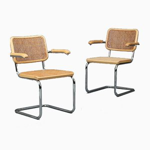 Bauhaus Beech S64 Cantilever Chair by Marcel Breuer for Thonet, 2000s