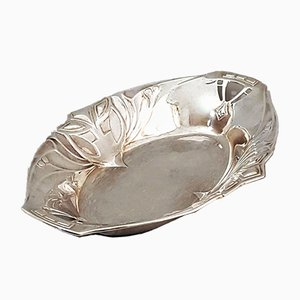 Jugendstil Silver-Plated Dish from WMF, 1890s