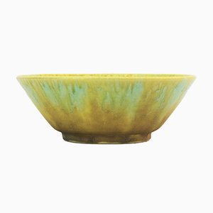 Crystalline Drip-Glazed Bowl from Ruskin Pottery, 1927