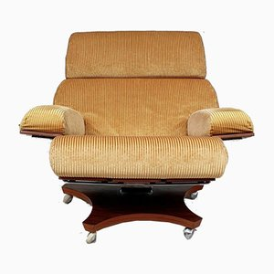 Mid-Century Rosewood Housemaster Swivel Lounge Chair from G-Plan