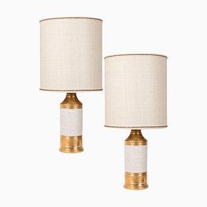 Tischlampen von Bitossi, 1960er, 2er Set