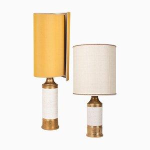Lampes de Bureau par Bitossi pour Berboms, 1960s, Set de 2