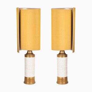 Tischlampen von Bitossi für Berboms, 1960er, 2er Set
