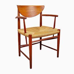 Armchair 317 by Peter Hvidt & Olga Molgaard-Nielsen, 1960s