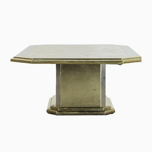Handcrafted Brass Coffee Table by Harry Snoren, 1970s