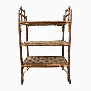 Bamboo and Rope Shelf, 1950s