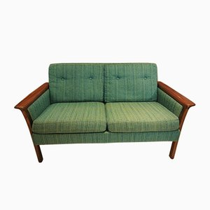 Mid-Century Rosewood 2-Seater Sofa by Hans Olsen