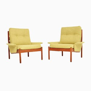 Danish Teak Armchairs from Johannes Andersen, 1960s, Set of 2