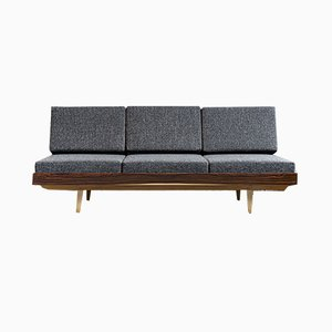 Mid-Century CSSR Rosewood Daybed from Jitona, 1960s
