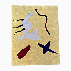 Vintage Mangouste Carpet by Joan Miró, 1961
