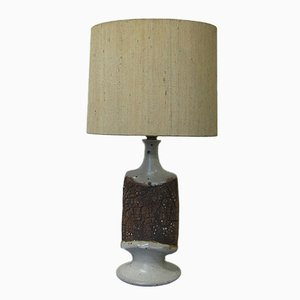 Vintage German Ceramic Table Lamp, 1970s