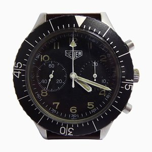 German Army Mechanical Wrist Watch from Heuer Bundeswehr