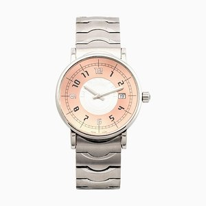 Stainless Steel Round Quartz Wrist Watch from Montblanc