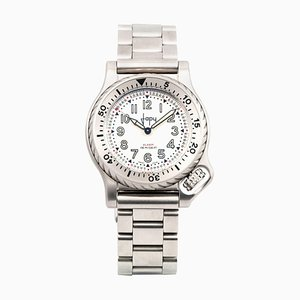 Reloj modelo 08 Four Quartz Bracelet de acero inoxidable con pulsera de Japy