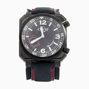 Stainless Steel Submarine Square WR Mechanical Wrist Watch from Gevril