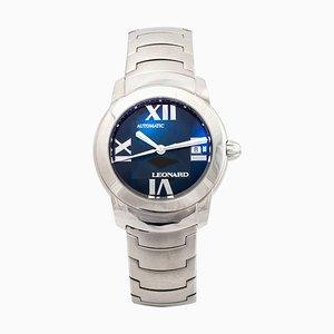 Sphere Armbanduhr aus Stahl von Leonard