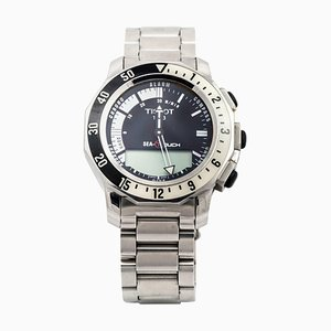 Steel Sea-Touch Wrist Watch from Tissot