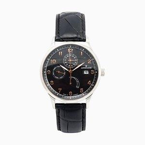 Orologio da polso automatico in acciaio inossidabile con complicazioni di Junghans