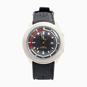 Orologio elettronico Super Nautic-Ski in acciaio inossidabile di Lip, 1972