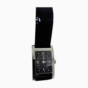 Hampton Woman Quartz Armbanduhr mit schwarzem Ziffernblatt von Baume & Mercier