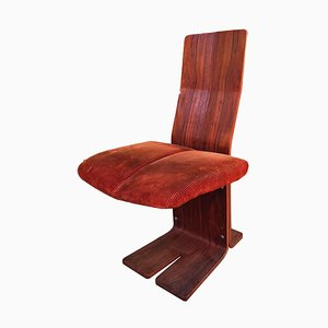Rosewood Dining Chairs from Rima, 1970s, Set of 4