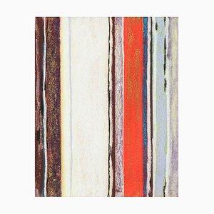 Buntstift Kunstwerk von Rolf Hans, 1966