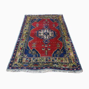 Antique Turkish Woolen Carpet, 1900s
