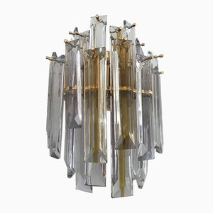 Bicolor Glass Sconces by Paolo Venini for Venini, 1980s, Set of 2