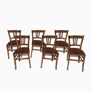 Mid-Century Bistro Chairs from Luterma, Set of 6