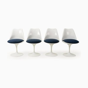 Dining Chairs by Eero Saarinen for Knoll Inc. / Knoll International, 1970s, Set of 4