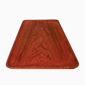Solid Teak Tray from Karl Holmberg AB Sweden, 1950s