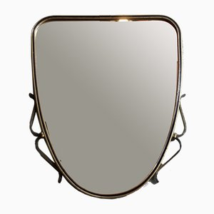 Mid-Century Rockabilly Wall Mirror, 1950s