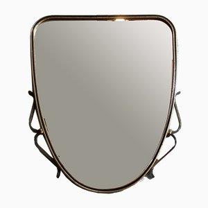Specchio da parete Rockabilly Mid-Century, anni '50
