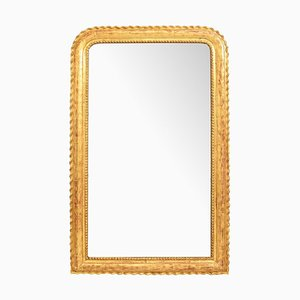 Antique Gold Leaf Frame and Gilt Wall Mirror