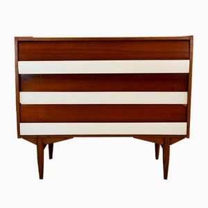 Italian Wood and Formica Chest of Drawers, 1960s