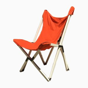 Italienischer Verstellbarer Vintage Tripolina Stuhl von Zanotta, 1960er