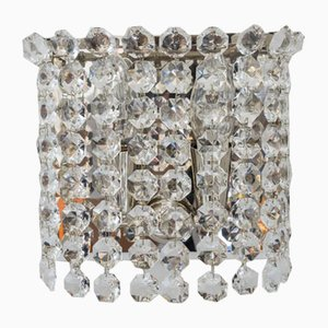 Crystal Wall Lights from Bakalowits & Söhne, Vienna, 1960s, Set of 2