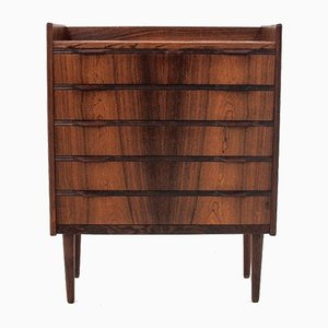 Danish Rosewood Chest of Drawers by Henning Jorgensen, 1960s