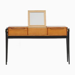 Belgian Dressing Table with Drawers, 1950s