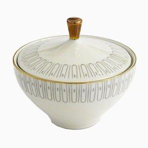 Vintage Bavaria Porcelain Sugar Bowl or Candy Dish from Elfenbein