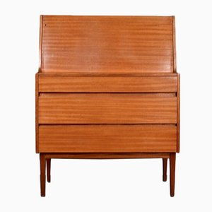 Walnut Secretaire from Heal's, 1960s